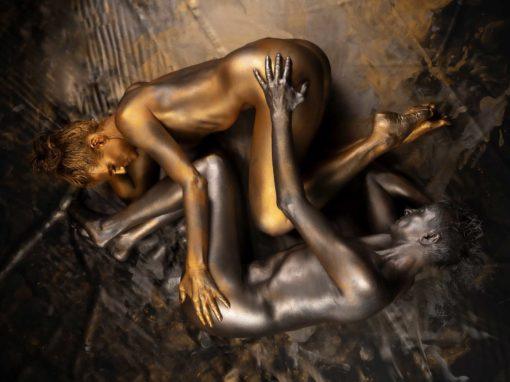Gold & Silber Fotoshooting Studio
