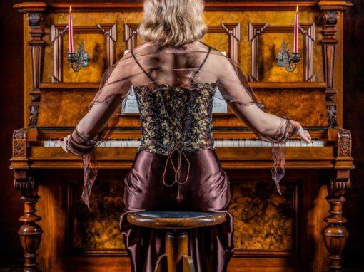 Klavier Fotoshooting